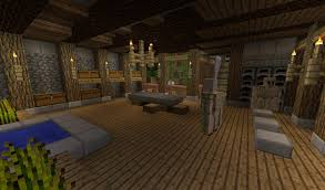 Minecraft Living Room Furniture Detail Setting Your Floor On Halfslabs Allows For More Detailed