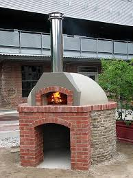 outdoor community oven at evergreen brickworks toronto