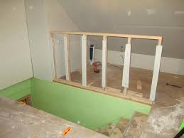 stair renovation solutions baer replacement kits you staircase staircase knee wall image