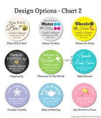 Baby Shower Water Bottle Labels Lowest Price Water Proof Labels Free Customization