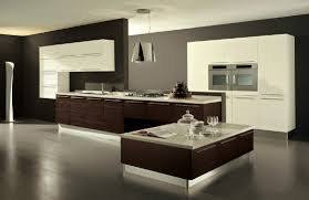 good looking wooden floor black and grey wall colors with white wooden wall mounted kitchen cabinet
