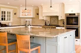 Large luxury kitchen island with sink