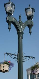 decorative street lighting road way