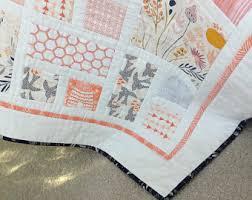 Handmade baby quilt | Etsy & MORNING WALK southwestern desert theme baby quilt 40 x 40 Made to Order Adamdwight.com