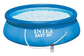 Amazon.com : Intex Easy Set Pool Set, 15-Feet by 42-Inch, Blue ...