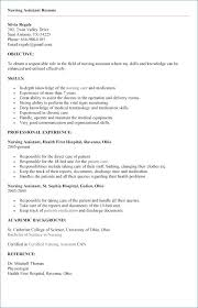 Cna Resume Template Free Stunning Free Cna Resume Samples Cna Resume Templates Cna Resume Sample For