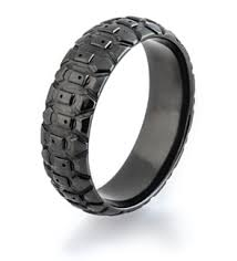 Tire Tread Wedding Rings Dirt Bike Goodyear Motorcycle
