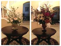 foyer tables ideas beautiful design for round best about table decorating grand