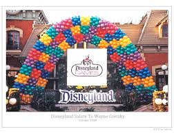 Disney Theme Decorations From Disneyland Balloon Boy To Balloon Businessman Disneyland