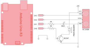 arduino ultrasonic proximity sensor arduino proximity sensor circuit