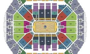 Oakland Arena Seating Chart Oracle Arena Seating Map Pxixmz Info