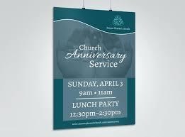 Anniversary Template Church Crusade Flyer Anniversary Templates Free Poster Template Psd