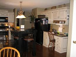 Kitchens With White Appliances Black Kitchen Appliances With Oak Cabinets Outofhome