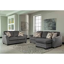 ashley furniture chaise sofa. Ashley Furniture Chaise Sofa Braxlin Livingroom Set In Charcoal Local Darcy Geordie
