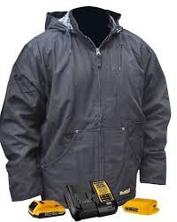 Dewalt Dchj076abd1 Heavy Duty Battery Heated Work Jacket