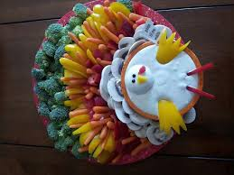 Decorative Relish Tray For Thanksgiving Turkey veggie tray Another gorgeous way to serve enjoy 26