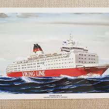 Tandem crossing with viking line's viking sally. Repixo Nyhet I Butiken Miniposter Med M S Viking Sally Facebook