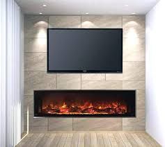 small white corner electric fireplace and image of stand