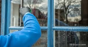 nettoyer des vitres et fenêtres très