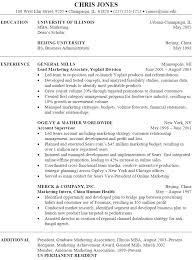 Marketing Resume Awesome Sample Marketing Resume