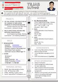 Resume Writing For Engineering Students What Are Some Popular Templates For Writing A Resume For An