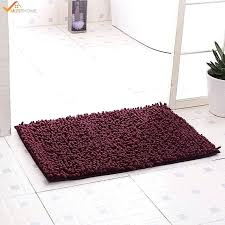 non skid rugs washable c bath rug for bathroom chenille gray shower slip kitchen non skid rugs