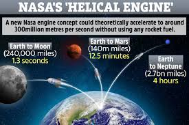 Light To Earth From Sun Speed Nasa Genius Invents Engine Concept That Travels At 99 The