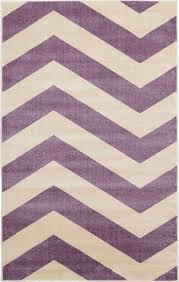 purple chevron area rug in girls bedroom ideas plus white sofa
