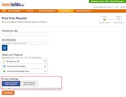 Careerbuilder Create Resume Post Resume On Careerbuilder Sugarflesh 15