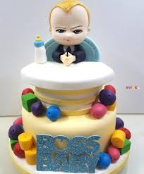 Order Excellent Boss Baby Theme Cake Online Birthday Cake In