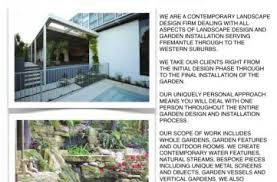 Small Picture Sustainable Garden Design Perth Creation Landscape Supplies