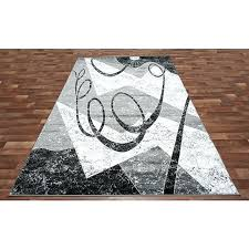 modern grey area rug gray and black area rugs modern red white swirls abstract rug with