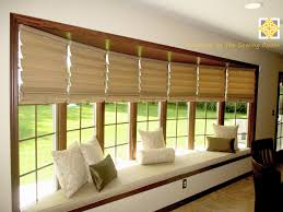 Kitchen Bay Window Treatment Modern Bow Window Treatments Decoration Windows Ideas Diy Rodanluo