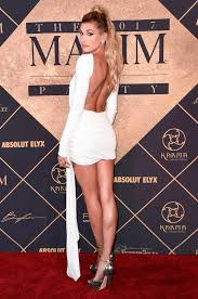 hailey baldwin attends the 2017 maxim hot 100 party at the hollywood palladium on saay