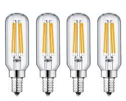 1155 Light Bulb Ctkcom 6w E12 Edison Led Filament Light Bulb 4 Pack Dimmable Candelabra Light Bulb T8 T25 Led Tubular Bulb 20w Equivalent Warm White 2700k 360lm
