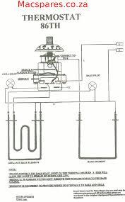geyser wiring diagram Geyser Thermostat Wiring Diagram wiring diagrams stoves switches and thermostats macspares geyser element wiring diagram