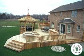 patio deck plans. Perfect Plans Deck And Patio Designs Design Ideas Possibility Plans Free Decks Wooden   Large Single Level Cedar Wood Intended Patio Deck Plans