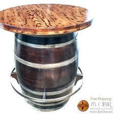 wine barrel furniture plans. Simple Wine Whiskey Barrel Pub Table B5066 Outlaw Complex  Wonderful Bar With Wine  On Furniture Plans