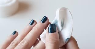 remove nail polish from nails skin