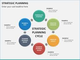 Strategic Planning Powerpoint Template Of Strategic Plan Template