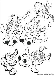 Finding Nemo Coloring Page Finding G Sheets Pages Character Page