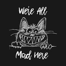 Alice In Wonderland Quote Interesting We're All Mad Here Cheshire Cat Alice In Wonderland Quote
