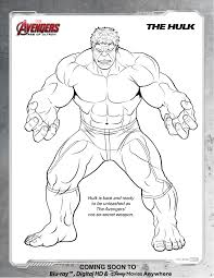coloring pages hulk print fresh avengers the page best new incredible