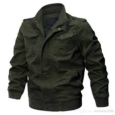 military style winter jacket autumn tactical men cotton army pilot coat brand clothing casual air force military style winter