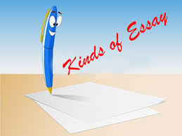 kinds of essay learn esl