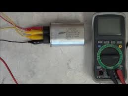 how to test the microwave oven s hv capacitor