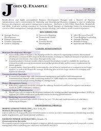 Business Resumes Sample Resume for Business Management Position Krida 90