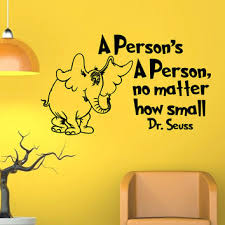 dr seuss wall decals es a persons a person no matter how small vinyl stickers wall