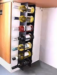 kitchen under cabinet space filler wine