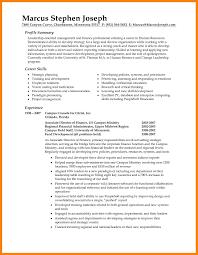 8 Summary Resume Samples Quit Job Letter